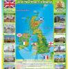 Стенд з картою Великої Британії та Північної Ірландії